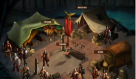 Spartacus vengence game camp