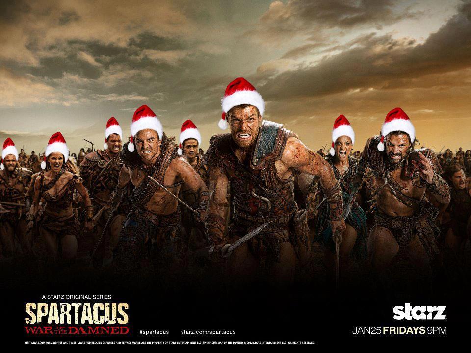 XMAS WITH SPARTACUS