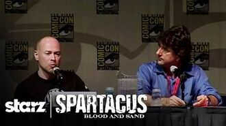 Spartacus Blood and Sand - San Diego Comic-Con 2009 Panel STARZ