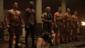 Solonius and his men