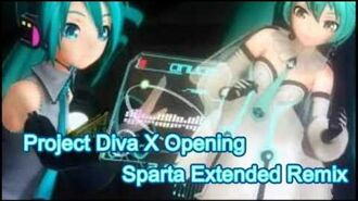 Project Diva X has a Sparta Extended Remix