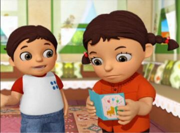Laila and Resheed (special agent oso)