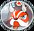Shimainu Button Small