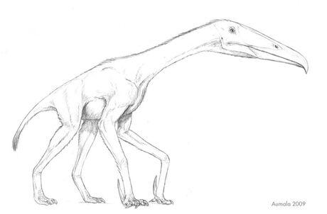Flightless pterosaur of doom by osmatar-d4dmb7r