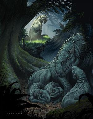 Dinocanisaurus by stephencrowe