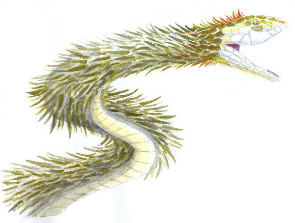Quetzalcoatl by sphenacodon