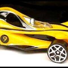 Racer X race car available with spear hooks