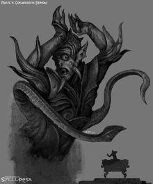 Cowardice demon