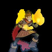 Portrait flamebender