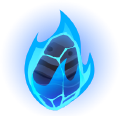Blue fire soul item