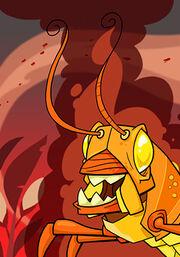 Plague of Fire Locusts A