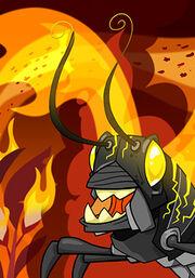 Plague of Fire Locusts C