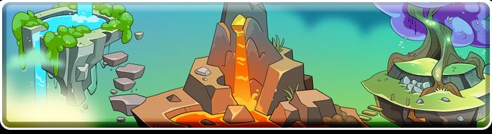 Elemental event banner