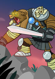 Bear Warrior C