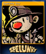 Spelunky Guy Card