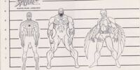Spider-Man: The Animated Series concept art and character designs