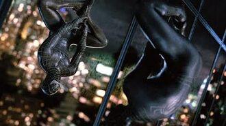 Peter Parker (Spider-Man) con El Traje Negro Español Latino HD Spiderman 3 (2007)