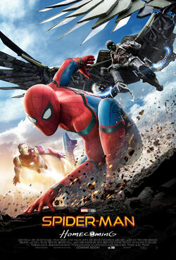 Spider-Man Homecoming – International release poster