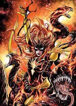 Jean Grey Vol. 1 -7 Venomized Phoenix Force Variant Textless