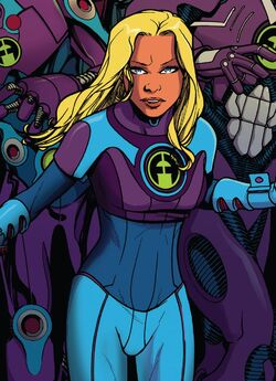 Susan Storm (Earth-1610) in her Future Foundation costume