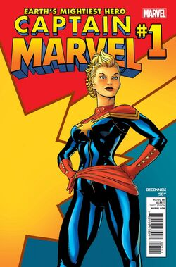 Captain Marvel Vol. 7 -1