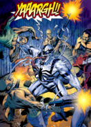 Anti-Venom fighting thugs