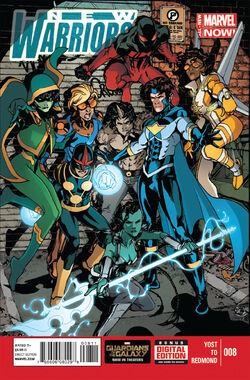 New Warriors Vol. 5 -8