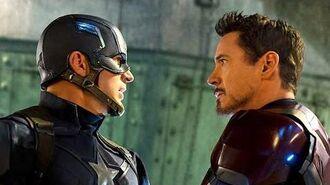 Marvel Civil War TV-Spot - Captain America VS Iron Man (FanMade)