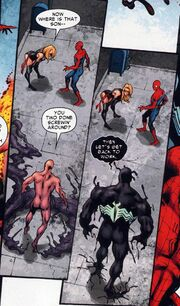 Gargan and the Symbiote rejoin