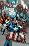 Captain America's inauguration