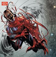 Carnage taking over the Wizard