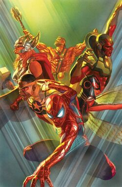 Avengers Vol 7 1 Textless