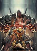 Cable Vol. 3 -5 Venomized Deadpool Variant Textless