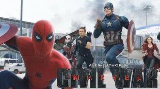 Marvel Civil War Fan Trailer - Team Captain America