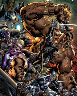 Ultimate Avengers vs New Ultimates Vol 1 2 Variant Avengers (Earth-1610)