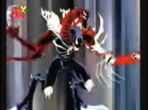 DXRD Caption of Conjoined Symbiote (Venom and Carnage Merged in Spider-Man Unlimited)