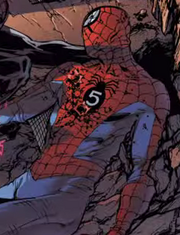 Peter Parker (Earth-772)'s dead body