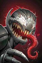 Champions Vol. 2 -12 Venomized Ultron Variant Textless