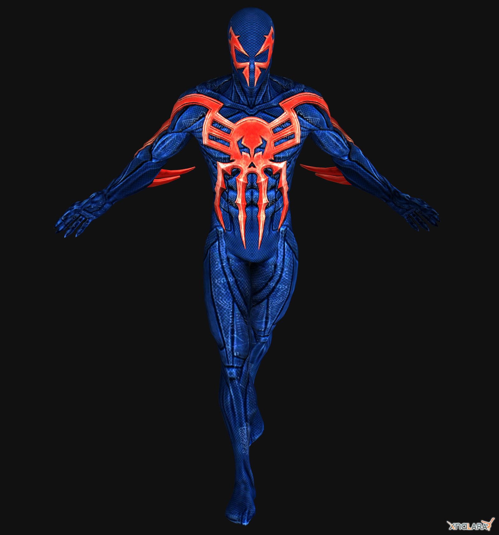 image spiderman shattered dimensions 2099 by