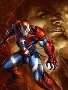Norman Osborn as the Iron Patriot
