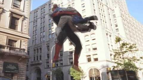 Pizza Delivery Spider-man style!