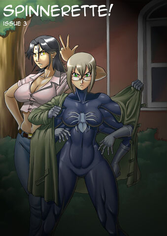 File:Spinnerette issue 3 cover by krazykrow-d2zl3gx-1-.jpg