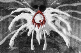 Darkrai Nightmare form by Esepibe