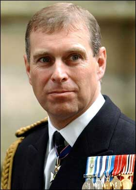 The real Prince Andrew aka The Duke of York