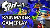 Rainmaker Mode Gameplay - Splatoon