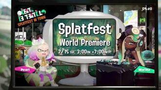 Splatfest Demo Coming BEFORE Splatoon 2's Release - Cake vs Ice Cream!-0