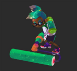 Inkling with paint roller