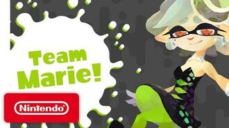Splatoon - Marie Solo Music Video (Tide Goes Out)