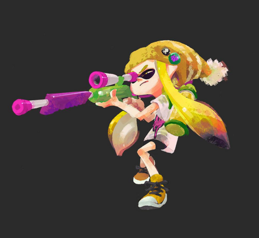File:Inkling with charge shot gun.png