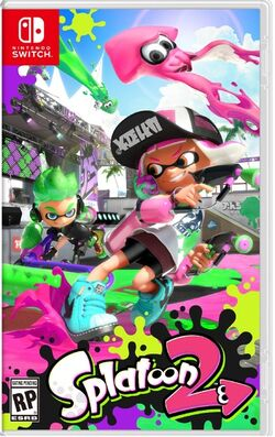 Boxart - Splatoon 2